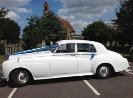 1963 classic Rolls Royce wedding car in Rochester